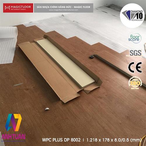 SÀN NHỰA, Sàn nhựa hèm khóa DP8002