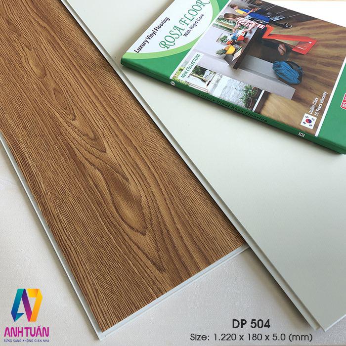SÀN NHỰA, Sàn nhựa hèm khóa DP504