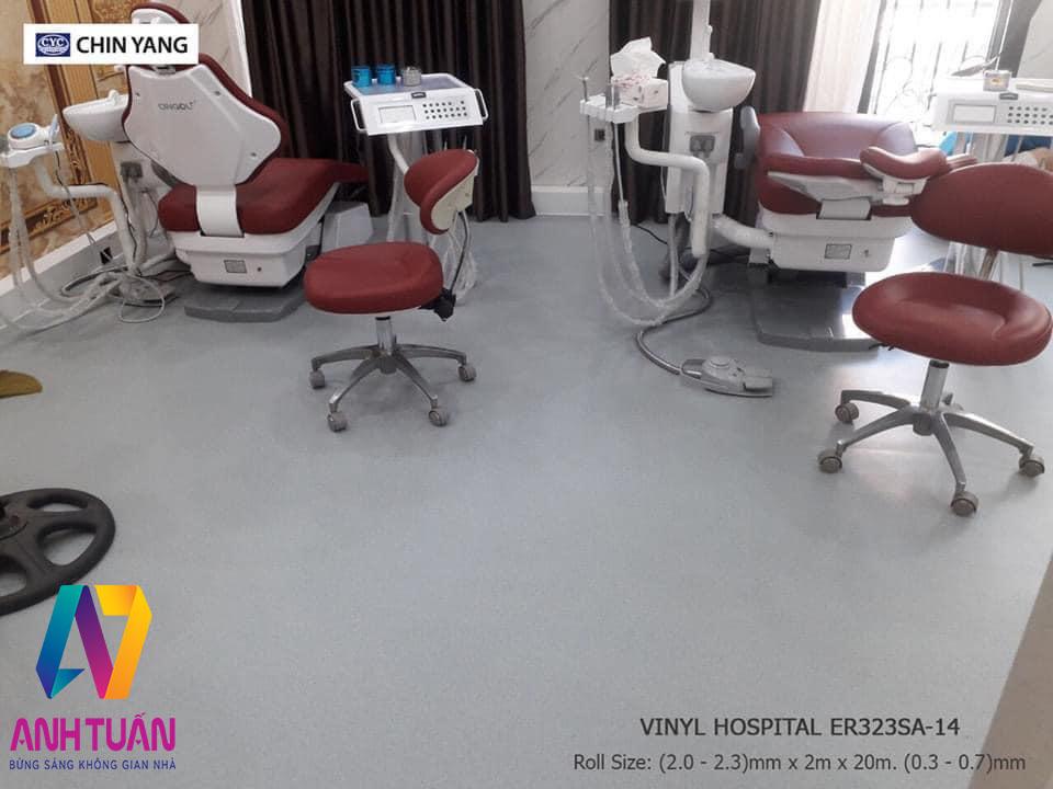 Sàn Vinyl Kháng Khuaane ER323SA-14, sàn nhựa cuộn